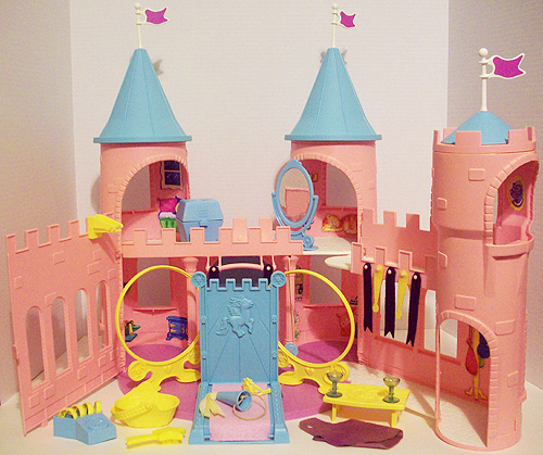 my little pony rainbow castle instructions