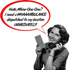 When I asked the Daughter if she needed a Waaambulance, she actually laughed and thought it was funny...